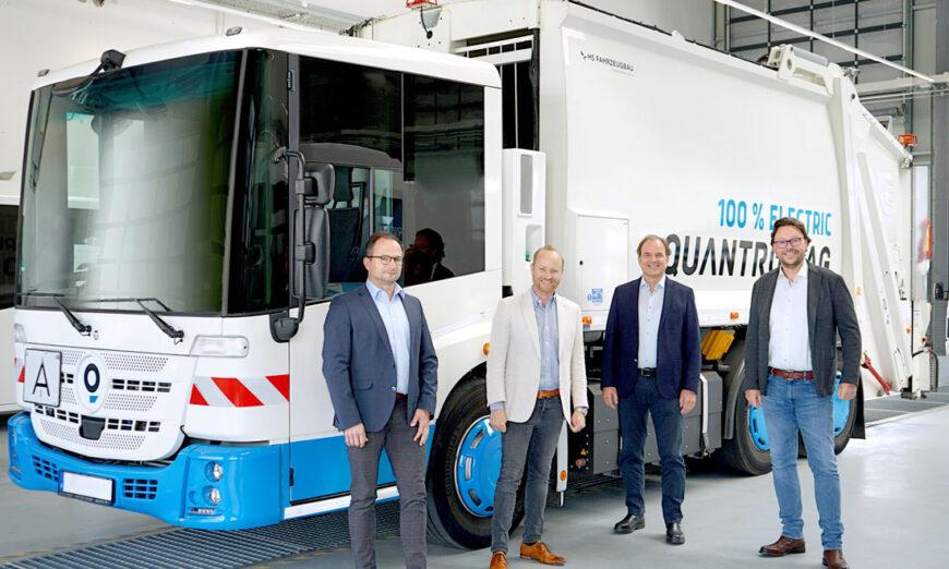 Quantron AG coopera con H2Go GmbH