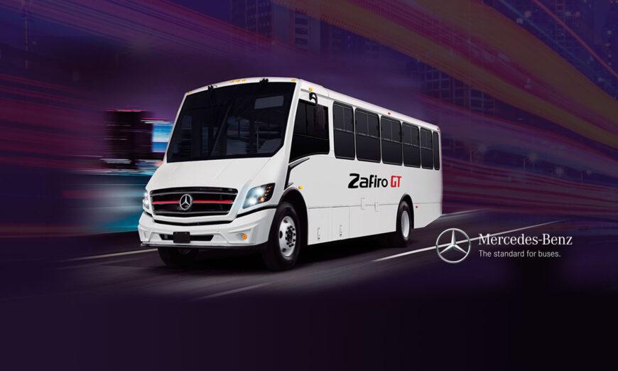 Zafiro GT es el Nuevo Autobús de Mercedes-Benz