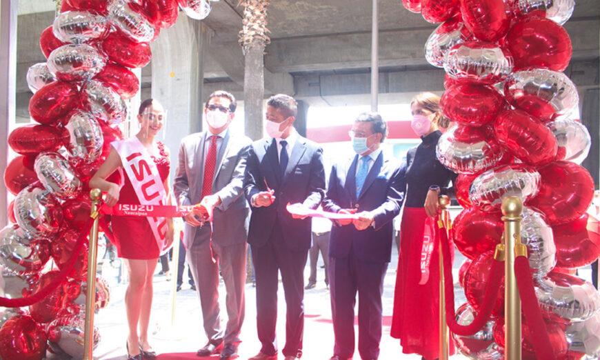 Isuzu Motors abre su concesionario número 35 en Naucalpan
