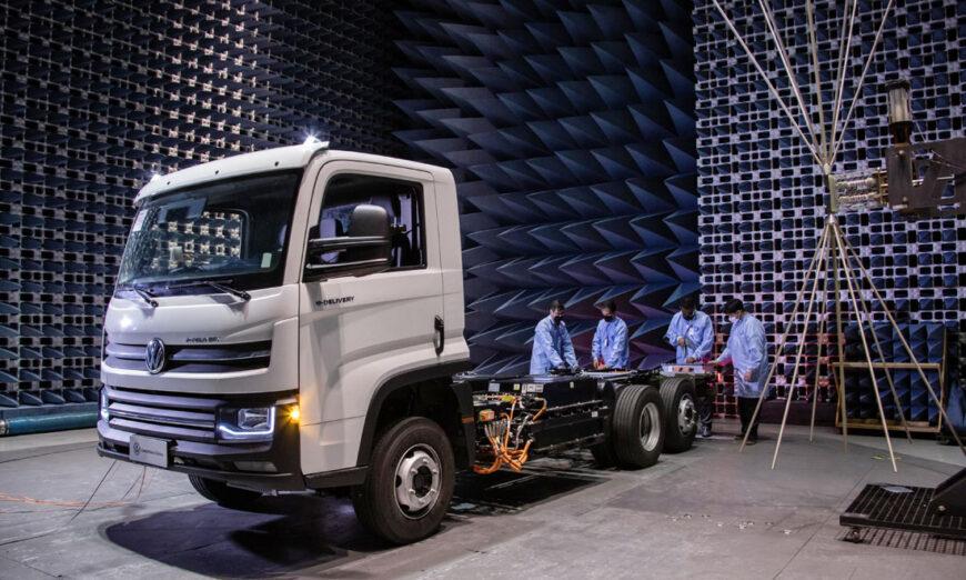 Volkswagen e-Delivery el primer camión eléctrico 100% desarrollado, probado y fabricado en Brasil