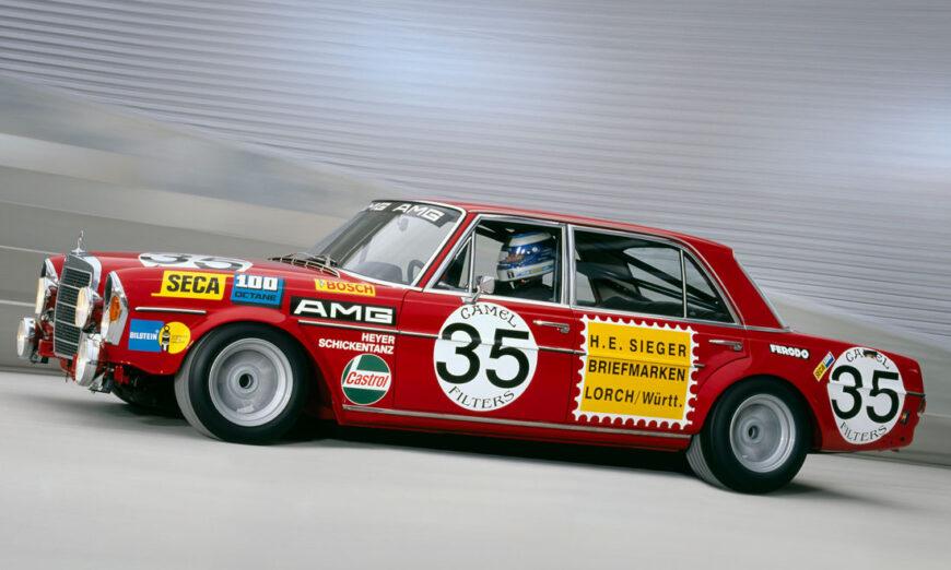 Hace 50 años, la sensación en Spa-Francorchamps: Victoria de AMG en las 24 horas de 1971