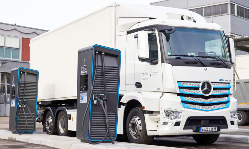 Estreno mundial del nuevo Mercedes-Benz eActros