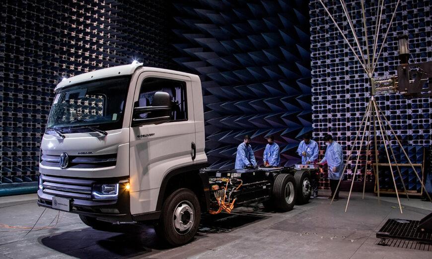 Bienvenido a la tecnología eléctrica de VW Caminhões e Ônibus