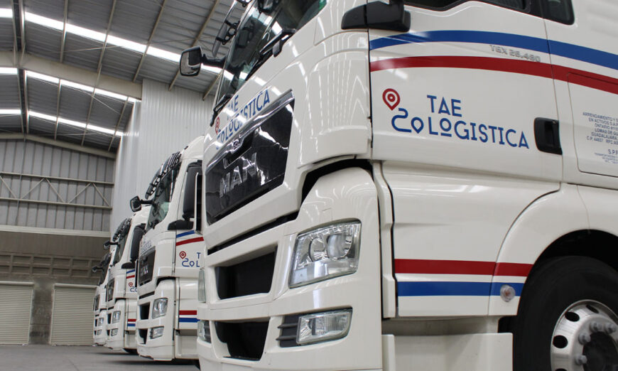 TAE Logística recibe 8 unidades TGX 26.480 de MAN