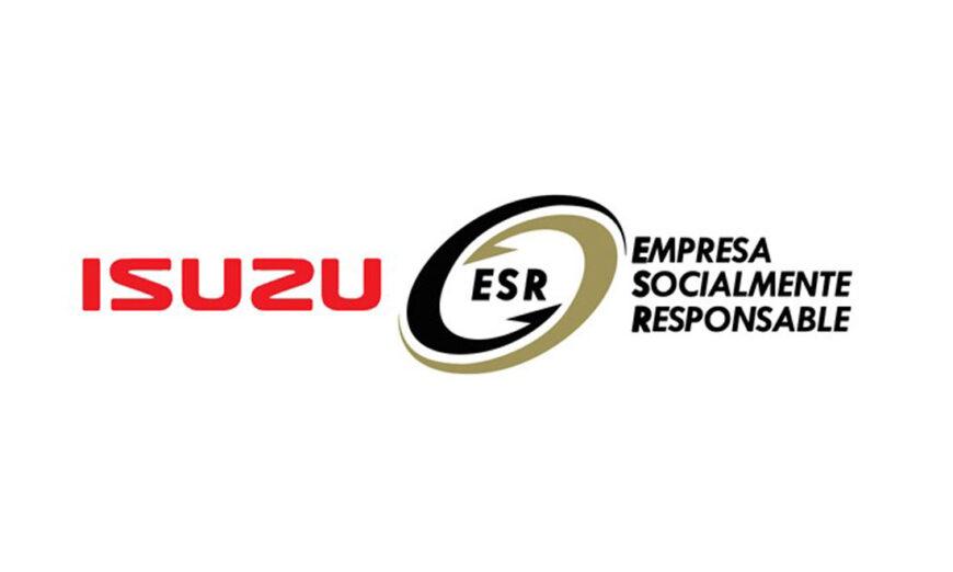 Isuzu Motors de México refrenda su certificado como Empresa Socialmente Responsable