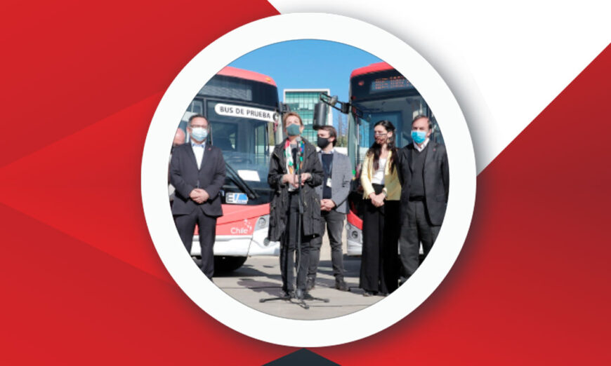 35 autobuses eléctricos se unirán a Valparaiso, Chile