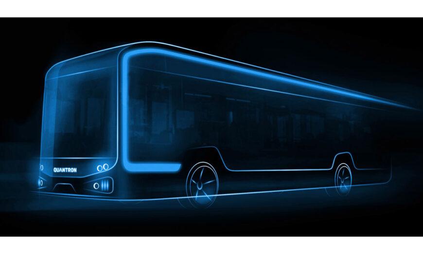 En Munich, QUANTRON lanza autobús eléctrico de 12 metros