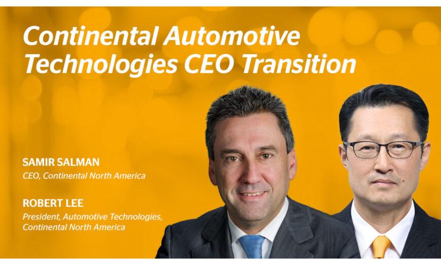 Robert H. Lee fue nombrado nuevo CEO y Presidente de Automotive Technologies en Continental Norteamérica