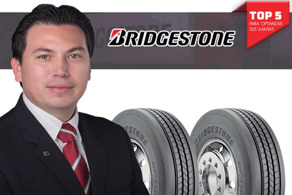 Bridgestone comparte el A, B, C, D y E para optimizar sus llantas