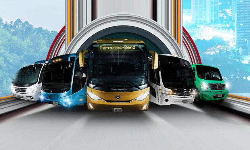 Mercedes-Benz Autobuses diseña autobuses pensados 100% en los mexicanos