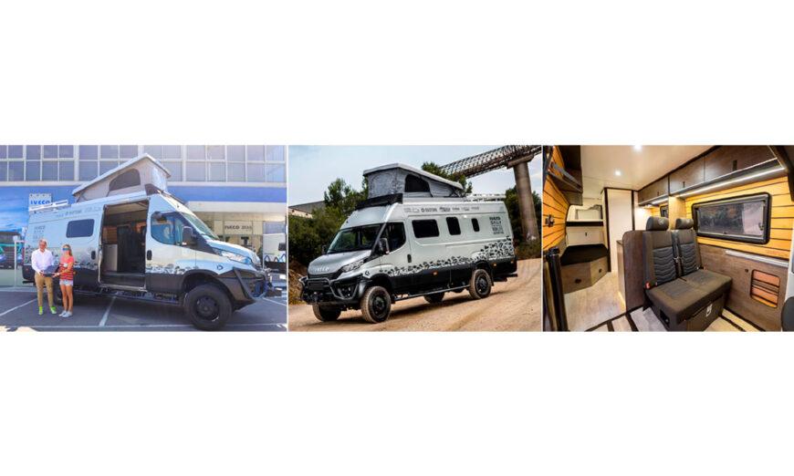IVECO presenta IVECO Daily Van Life Adventure, la furgoneta 4x4 personalizada
