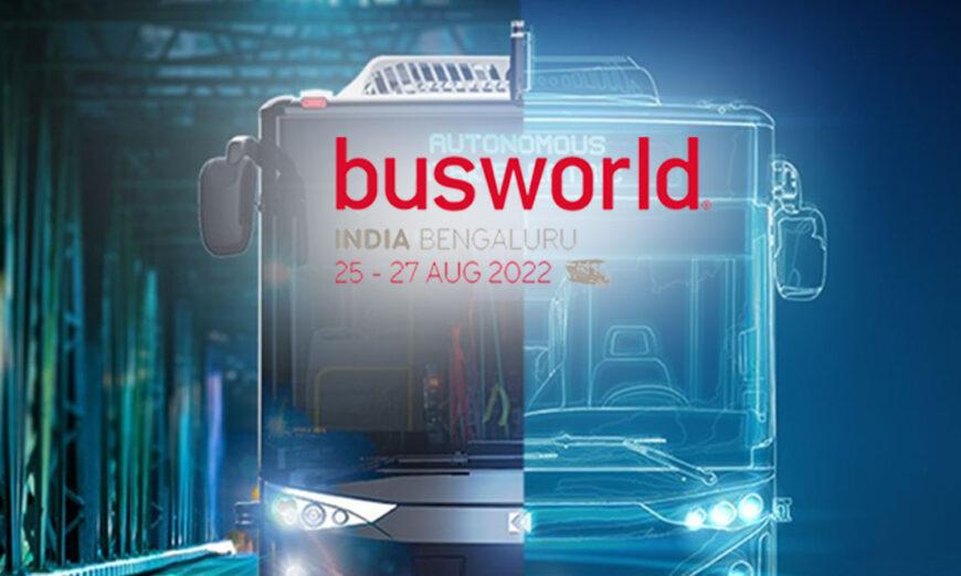 Busworld India reunirá a los actores de la industria de autobuses y autocares en agosto de 2022
