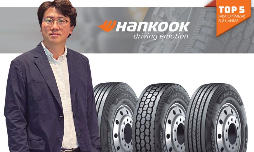 Hankook ofrece el mejor producto y una asesoría superior