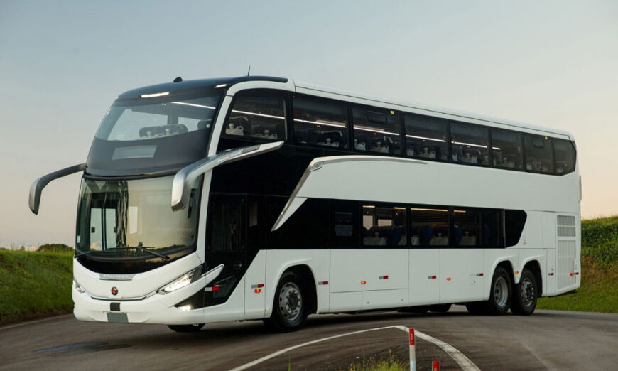 Marcopolo rompe récord con la comercialización de 200 autobuses Generación 8