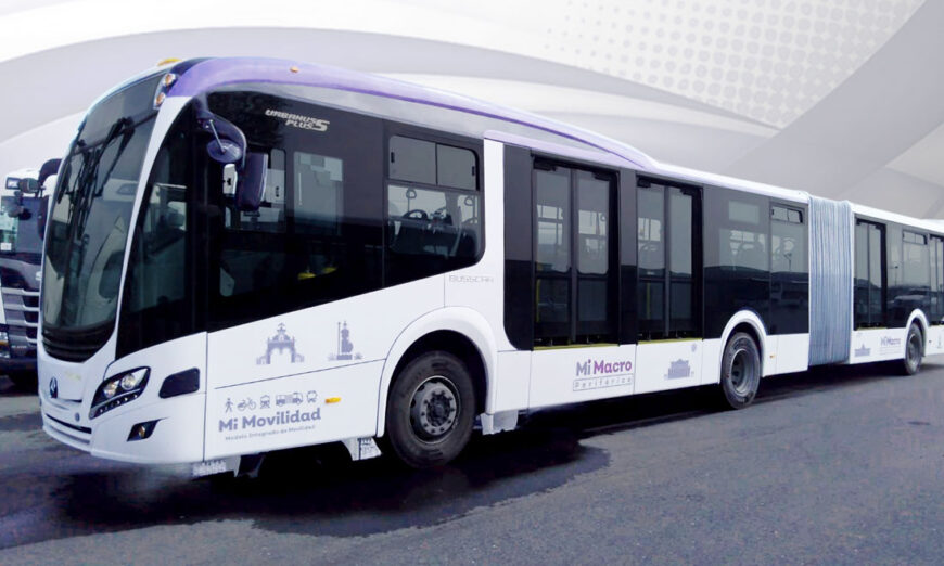 Mercedes-Benz Autobuses integra 37 autobuses articulados para el Sistema BRT Mi Macro Periférico en Jalisco