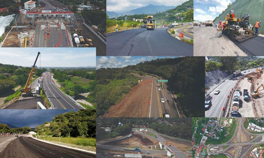 Modernización de la carretera la Pera-Cuautla presenta avance físico de 82.3 por ciento